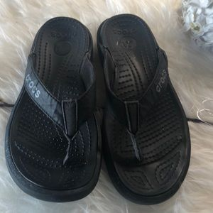 a634b3f16c36 CROCS Shoes - Crocs Capri V black sandals flip flops
